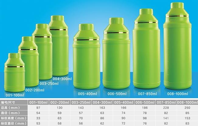 叶面肥塑料瓶
